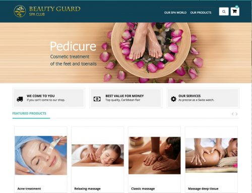 New Demo available for  SPA Shop
